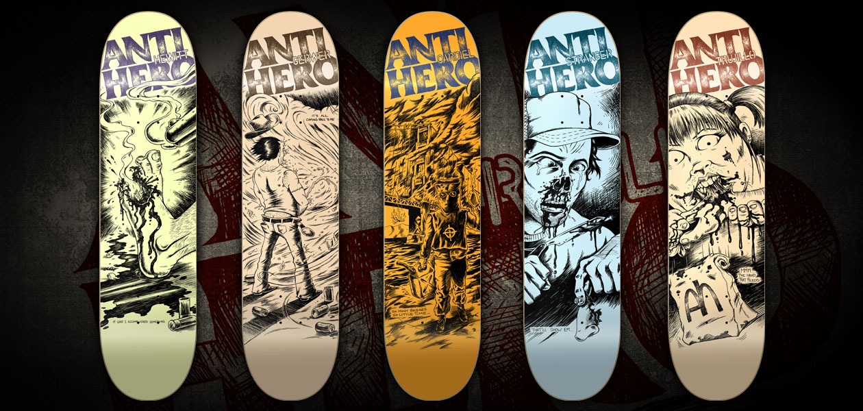 Anti Hero Skateboards Logo Anti Hero Skateboards