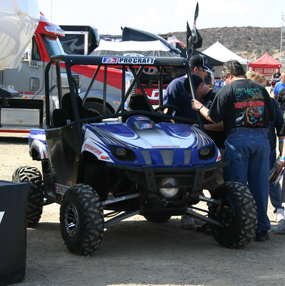 Modified Yamaha Rhino