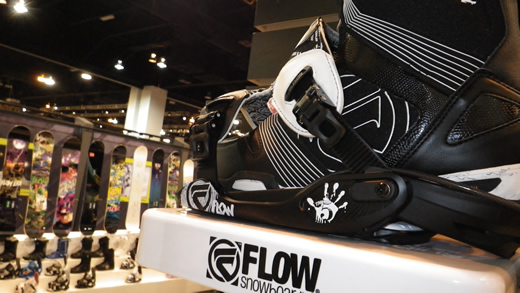 Flow Snowboards Binding Graphics - Soup Designed